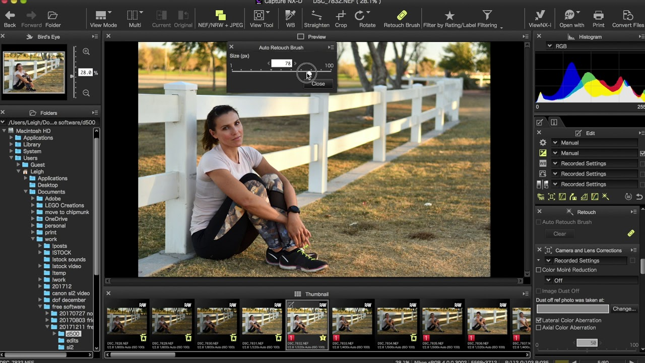 Nikon Capture NX-D - Free Photo Editing Software