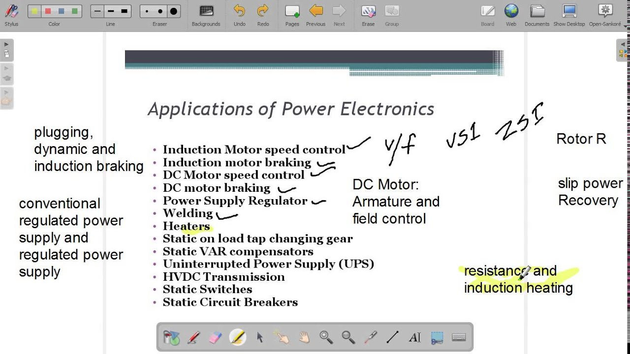 Power Electronics and its Applications