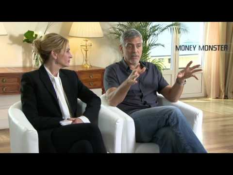 Money Monster: George Clooney & Julia Roberts Official Movie Interview