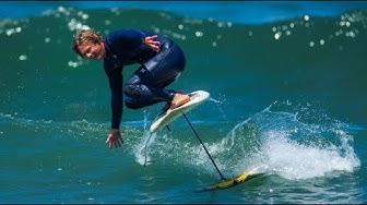 Hydrofoil-Surfen begeistert Wassersportler