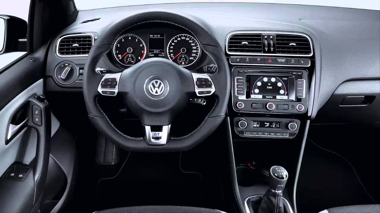 car interior 2013 volkswagen polo bluegt on 17 1 4 tsi 140 cv youtube. Black Bedroom Furniture Sets. Home Design Ideas