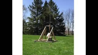 Golf Ball Trebuchet