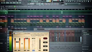 Alexis & Fido Ft. Wisin & Yandel - Energia Instrumental Remake On Fl Studio 10