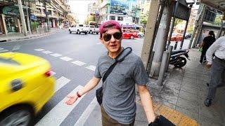 Ein Trottel alleine in THAILAND