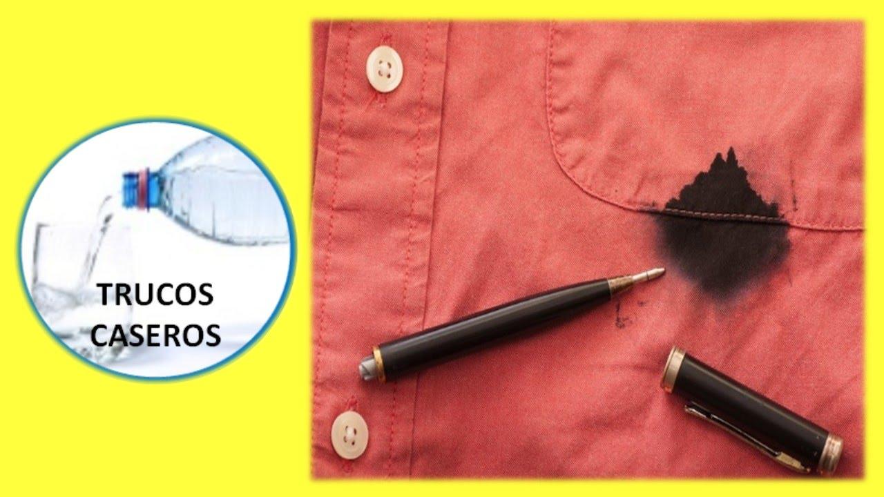 Trucos caseros para quitar las manchas de tinta de la ropa - Quitar mancha rotulador ...