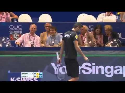 [HD] Ivo Karlovic vs Marin Cilic FULL MATCH IPTL Singapore 2015
