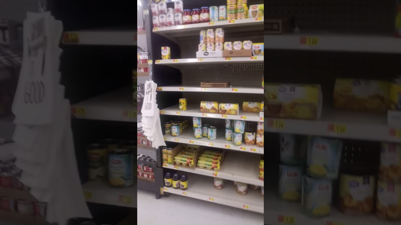 Empty shelves 3rd week. Knightdale NC State of Emergency and National Emergency. Original air date.