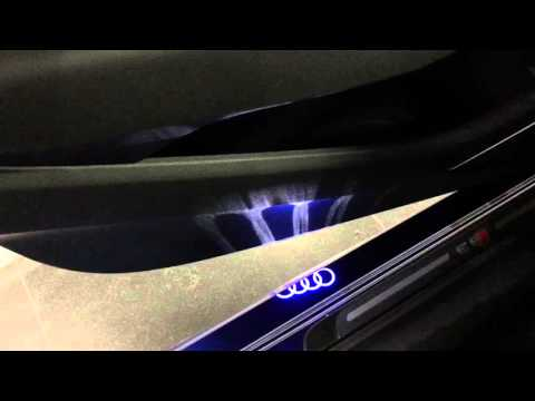 Audi Four Rings Puddle Lights
