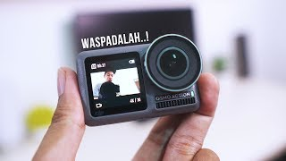 GO PRO KUDU WASPADA! 😨 - Nyobain DJI Osmo Action ⚡�