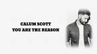 Gambar cover Calum Scott - You are the Reason (Lyrics)