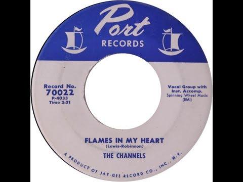 The Channels - Flames In My Heart ( Doo Wop 1957)