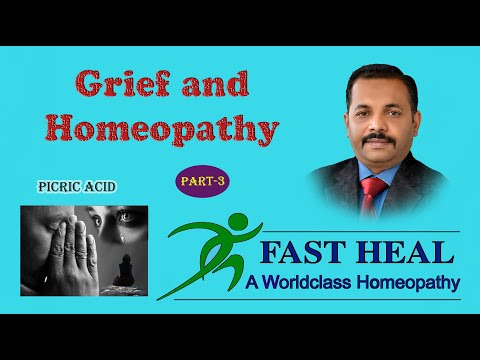 Grief  & Homeopathy(Part-3)