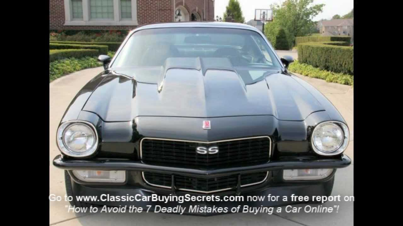 1971 Chevy Camaro Classic Muscle Car for Sale in MI Vanguard Motor ...