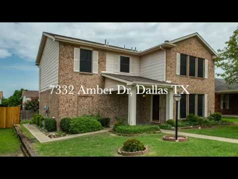 SOLD: 7332 Amber Dr, Dallas TX (4D TOUR)