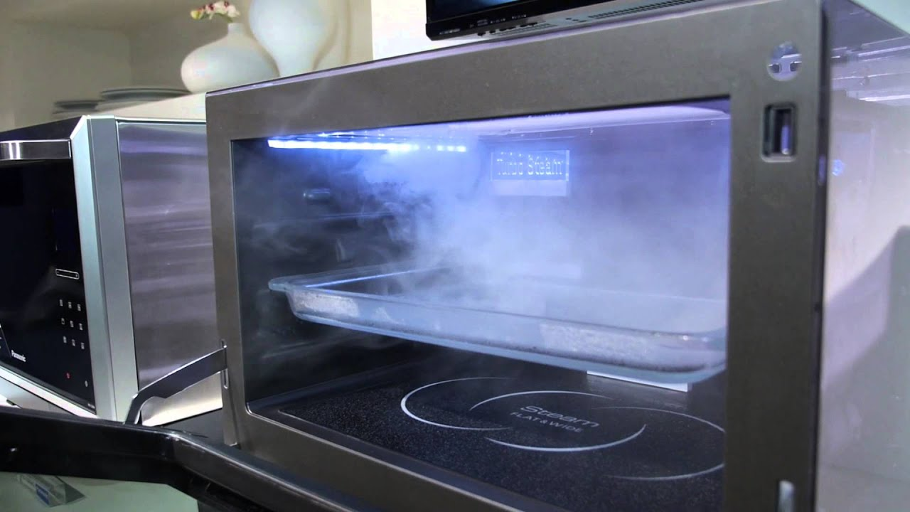 panasonic s new microwave can bake grill and even steam your food