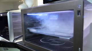 Panasonic's New Microwave Can Bake, Grill, and Even Steam Your Food