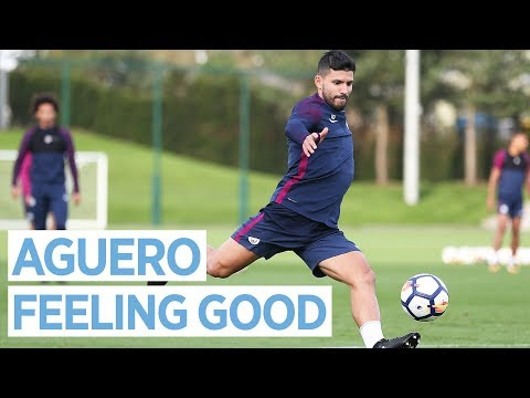 SERGIO BACK IN FULL TRAINING! | Man City Training