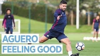 SERGIO BACK IN FULL TRAINING! | Man City Training
