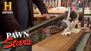 Pawn Stars: RICK HITS THE BULLSEYE on 1863 Sharps Rifle (Season 4) | History