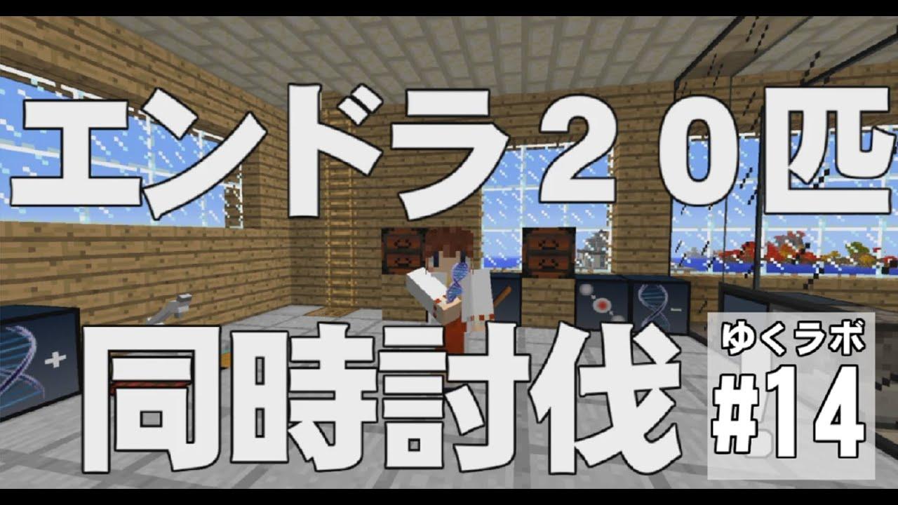 しう 【Minecraft】ゆくラボ~遺伝子工学でリケジョ無双~ 最終回【ゆ... 【Minec