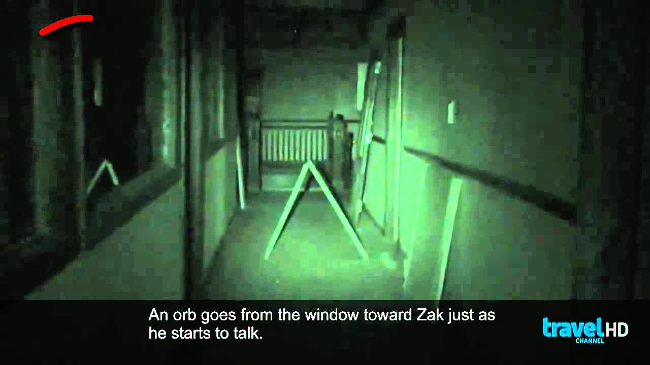 Missed Orb On Ghost Adventures Mizpah Hotel Youtube
