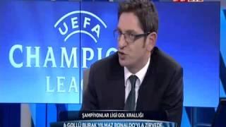Braga 1 - 2 Galatasaray (5 Aralık 2012) YILMAZ GALATASARAY! NTV SPOR