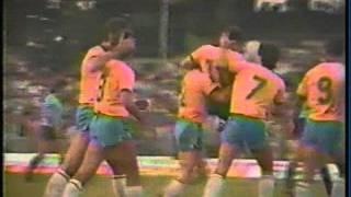 1984 (June 21) Brazil 1-Uruguay 0 (Friendly).mpg