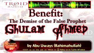The Demise of the False Prophet Ghulam Ahmed