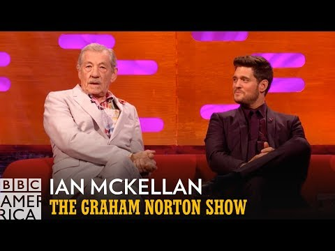 Ian McKellan Sat on the Throne with Judi Dench  The Graham Norton   BBC America
