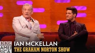 Ian McKellan Sat on the Throne with Judi Dench | The Graham Norton Show | BBC America