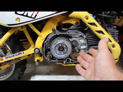 klx 110 manual clutch installation