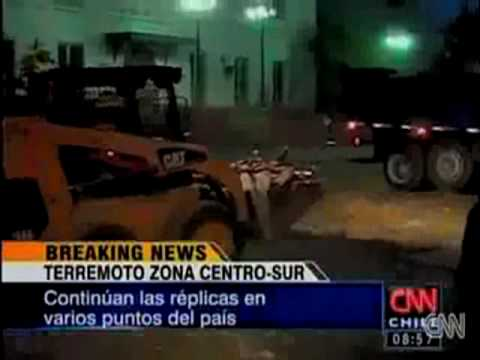 Chile Earthquake tsunami warning issued .  28th 2nd 2010.