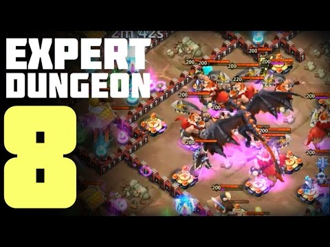 Castle Clash: Expert Dungeon 8