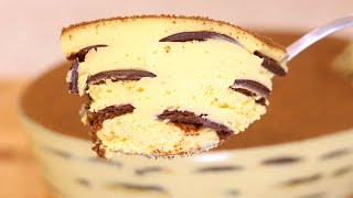 Sobremesa Cremosa Com Biscoitos De Chocolate