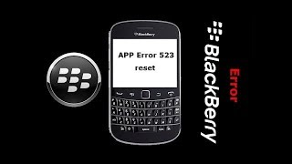 How To Flashing Blackberry