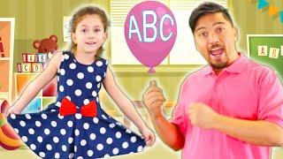 ABC Song with Balloons | Alphabet Songs by Chu Chu Ua