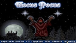 Hocus Pocus gameplay (PC Game, 1994)