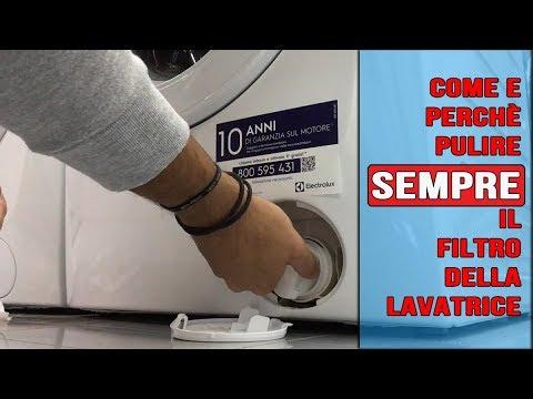 Lavatrice: come rimuovere e pulire la vaschetta detersivo