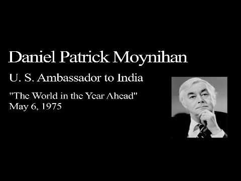 Landon Lecture | Daniel Patrick Moynihan - audio only