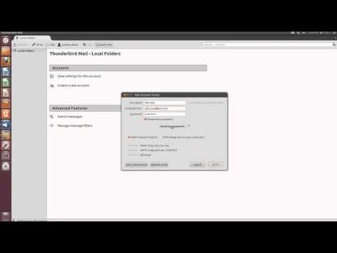 Ubuntu Thunderbird Basics