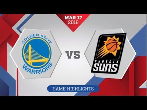 Phoenix Suns vs Golden State Warriors: March 17, 2018