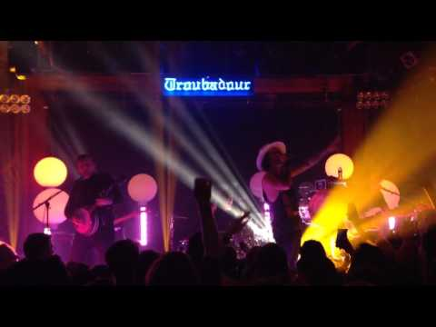 """Go Big or Go Home"" - American Authors LIVE at The Troubadour - West Hollywood, CA 3/29/2016"