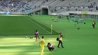 南の挨拶 東京ヴェルディ vs モンテディオ山形 2018 J2 第6節 味の素ス...