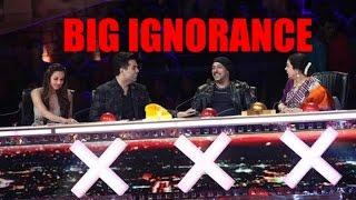Salman Khan Ignores Malaika Arora in India's Got Talent Show