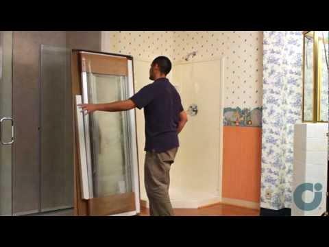 Shower Doors -  Neo Angle Installation