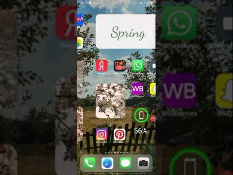 📱Как сделать виджеты и иконки ios14 на андроиде?🦋📱