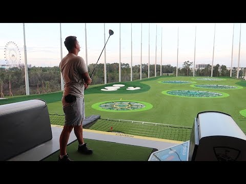 Our Full Experience At The All New Top Golf Orlando!