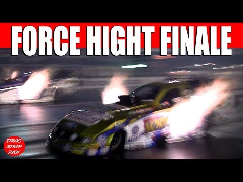 2013 Night Under Fire Nitro Funny Cars John Force Hight Head Alexander Nostalgia Drag Racing Videos