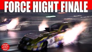 2013 Night Under Fire John Force Hight Head Alexander Nitro Funny Car Nostalgia Drag Racing Videos
