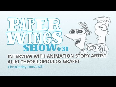 Interview With Animation Story Artist Aliki Theofilopoulos Grafft :: Paper Wings Show #31